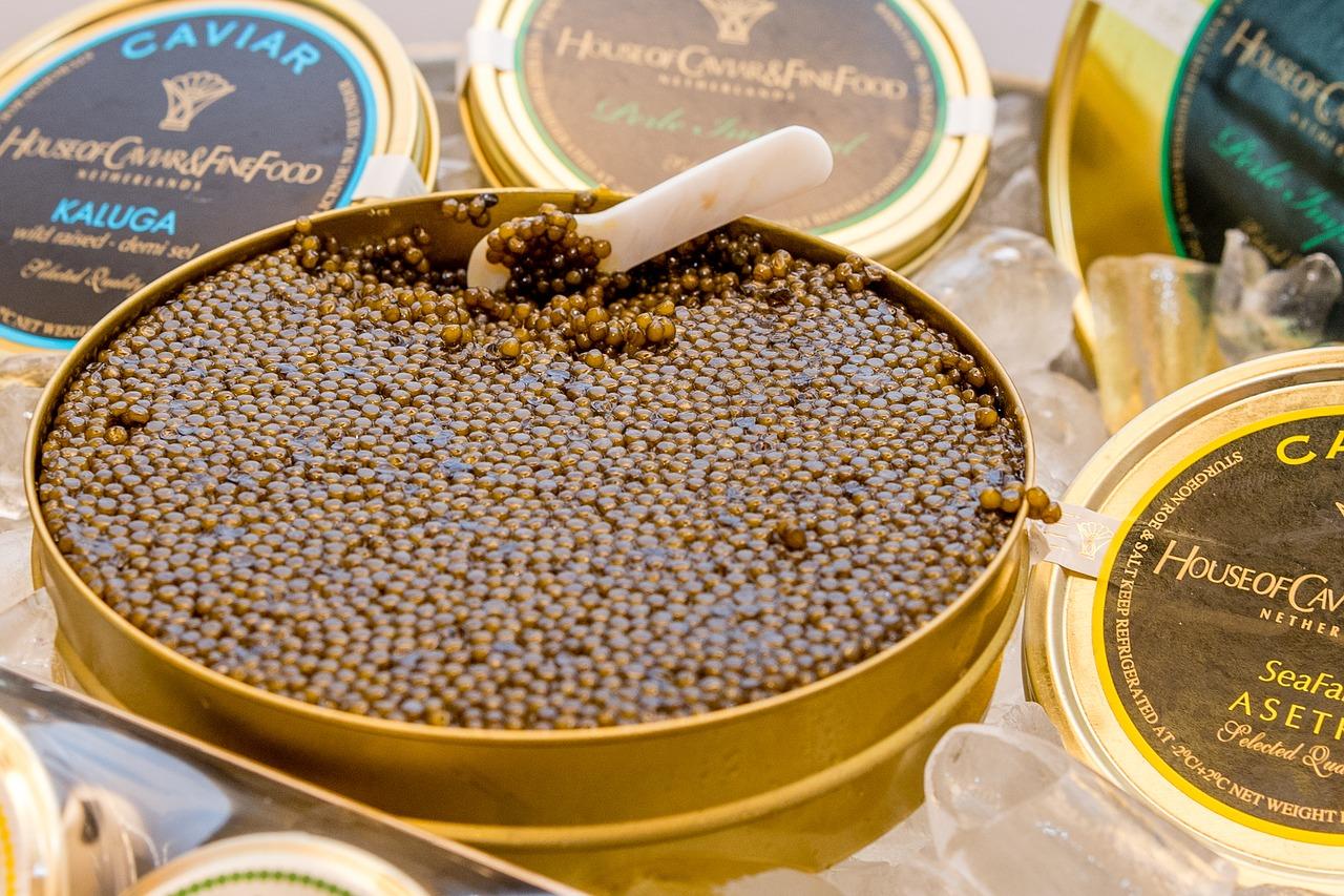 caviar y conservas