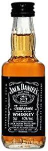 Jack Daniels Miniature American Bourbon Whiskey