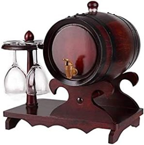 HAIRCUTCLOAKJ Weinspender Eichenfässer Aging Eichenfass weinfass