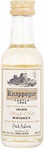 Knappogue Castle Very Special Reserve Irish Single Malt Whiskey 1994