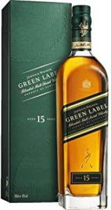 Johnnie Walker Green Label Blended Whisky 70cl Bottle