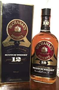 Buchanan's Reserve 12yo con estuche 75cl old bottle