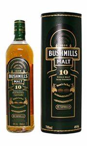 Bushmills Whisky irlandés de malta 10 años