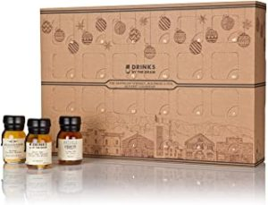 Drinks By The Dram American Whiskey Bourbon & Rye Advent