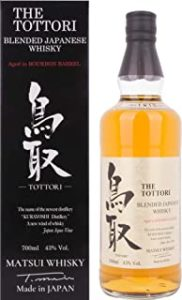 The Tottori Blended aged in Bourbon Barrel