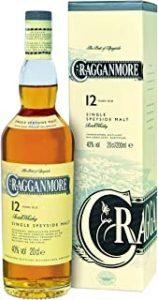 Cragganmore - Single Speyside Malt (20cl bottle) 12 year old
