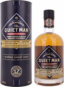 The Quiet Man Sherry Finished 12 Years Old Single Malt Irish Whiskey