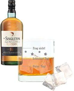Singleton Of Dufftown Juego de 2 Vasos de Whiskey 18 años