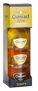 Clontarf Irish Whiskey Mini Trinity